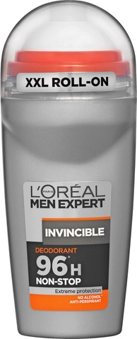 L'Oréal Paris Men Expert Deo Roll-On Invincible 96h Antiperspirantti 50ml
