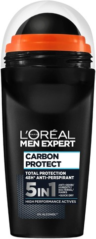 L'oréal Paris Men Expert Deo Carbon Protect 5In1 Roll-On Antiperspirantti 50Ml