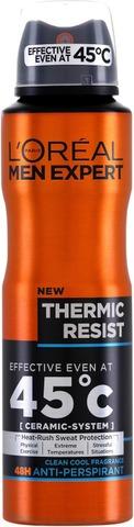 L'Oréal Paris Men Expert Deodorant Thermic Resist Spray antiperspirantti 150ml