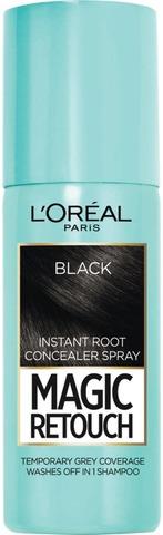 L'oréal Paris Magic Retouch Black Suihkutettava Tyvisävyte 75Ml