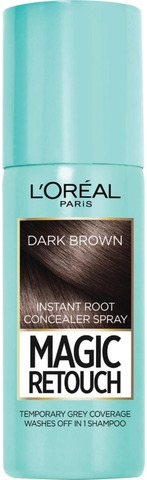 L'oréal Paris Magic Retouch Dark Brown Suihkutettava Tyvisävyte 75Ml