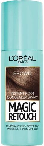 L'oréal Paris Magic Retouch Brown Suihkutettava Tyvisävyte 75Ml