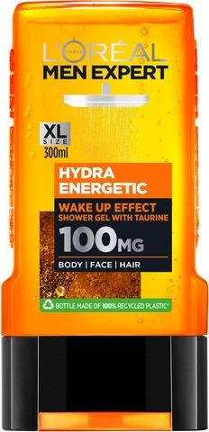 L'oréal Paris Men Expert Hydra Energetic Suihkugeeli 300Ml