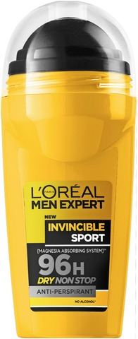 L'Oréal Paris Men Expert Deo Invincible Sport roll-on antiperspirantti 50ml