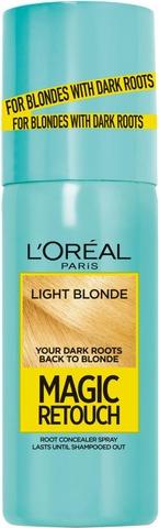 L'oréal Paris Magic Retouch Light Blonde Suihkutettava Tyvisävyte 75Ml