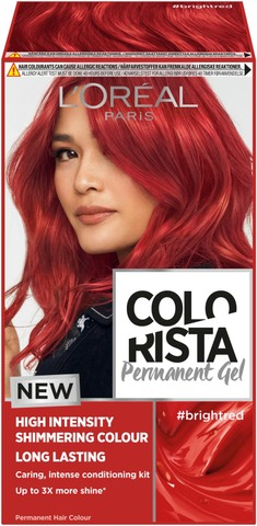 L'oréal Paris Colorista Permanent Gel #Brightred Kestoväri 1Kpl