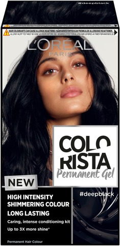 L'oréal Paris Colorista Permanent Gel #Deepblack Kestoväri 1Kpl