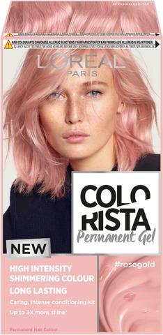 L'oréal Paris Colorista Permanent Gel #Rosegold Kestoväri 1Kpl
