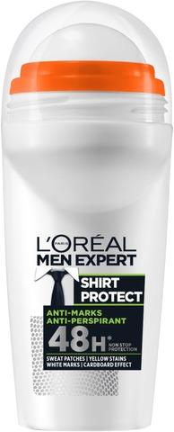 L'oréal Paris Men Expert Shirt Protect Roll-On Antiperspirantti 50Ml