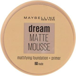 Maybelline New York  Dream Matte Mousse 021 Nude  Meikkivoide 18Ml