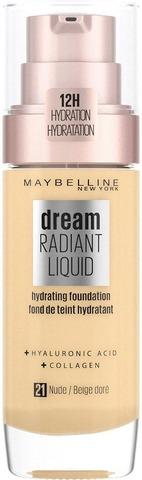 Maybelline New York Dream Radiant Liquid 021 Nude Meikkivoide 30Ml