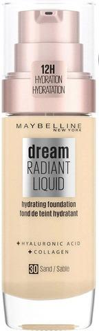 Maybelline New York Dream Radiant Liquid 030 Sand Meikkivoide 30Ml