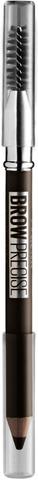 Maybelline New York Brow Precise Shaping Pencil   Deep Brown -Kulmakynä 0,84G