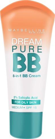 Maybelline New York  Dream Matte Bb -Light-Medium -Bb Voide 30Ml