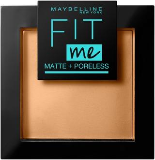 Maybelline New York Fit Me Matte+Poreless 350 Caramel -Puuteri 9G