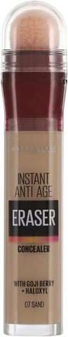 Maybelline New York  Instant Anti Age Eraser 07 Sand  -Peitevoide 6,8Ml