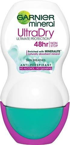 Garnier Mineral Deodorant 50 Ml Dry Roll-On 50Ml