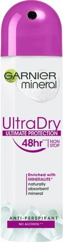 Garnier Mineral Deodorant 150 ml Ultra Dry spray 150ml