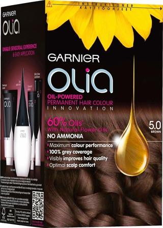 Garnier Olia 5.0 Brown Ruskea Kestoväri 1Kpl