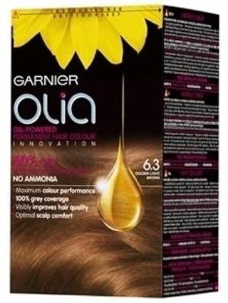 Garnier Olia 6.3 Golden Light Brown Vaalea Kullanruskea Kestoväri 1Kpl