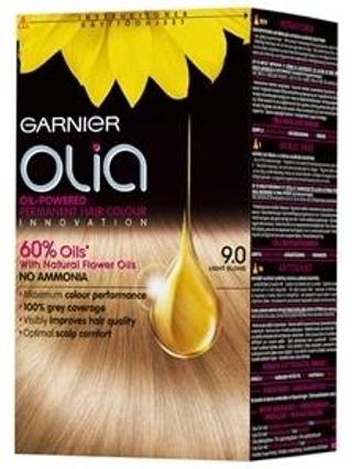 Garnier Olia 9.0 Light Blond Vaalea Kestoväri 1Kpl