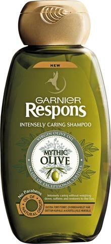 Garnier Respons Mythic Olive shampoo erittäin kuiville ja käsitellyille hiuksille 250ml