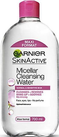 Garnier Skin Active 700ml Micellar puhdistusvesi normaalille ja herkälle iholle