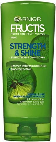 Garnier Fructis Strength & Shine Hoitoaine Normaaleille Hiuksille 200Ml