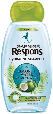 Garnier Respons Coconut Water & Aloe Vera Gel kosteuttava shampoo 250ml