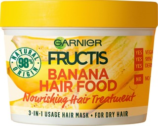 Garnier Fructis Banana Hair Food hiusnaamio 390ml