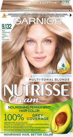Garnier Nutrisse 9.132 Vaalea Nude Kestoväri 1Kpl