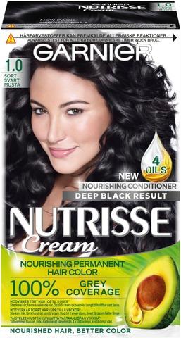 Garnier Nutrisse 1 Musta Kestoväri 1Kpl