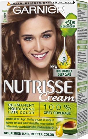 Garnier Nutrisse 6.0 Vaaleanruskea Kestoväri 1Kpl