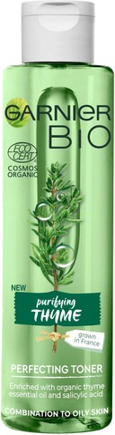 Garnier Bio Timjamia sisältävä puhdistava kasvovesi 150ml