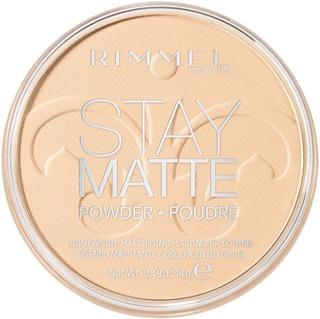 Rimmel 14G Stay Matte Pressed Powder Kivipuuteri 001 Transparent