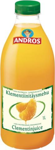 Andros 1L Klementiini Tuorepuristettu Mehu