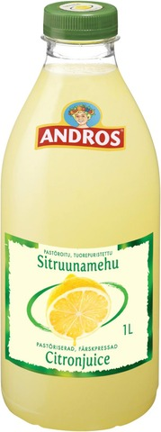 Andros 1L Sitruunamehu