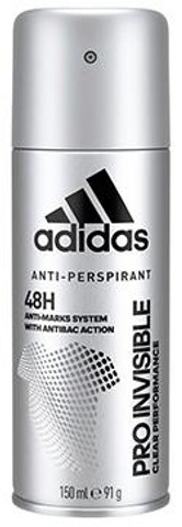Adidas Invisible Deo Spray For Men 150 Ml