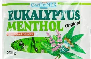 Candymex 250G Kurkkupastilli Eukalyptus Menthol
