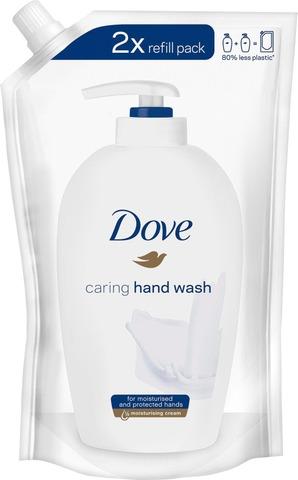 Dove Cream Wash Käsisaippua Täyttöpakkaus 500Ml