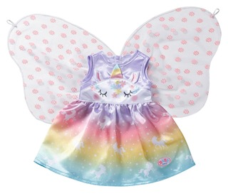 Baby Born Unicorn Fairy Asu 43M