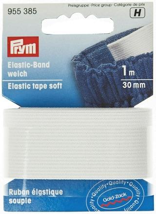 Prym resorinauha 30mm/1m valkoinen