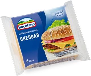 Hochland Cheddar Sulatejuustoviipaleet 200 G