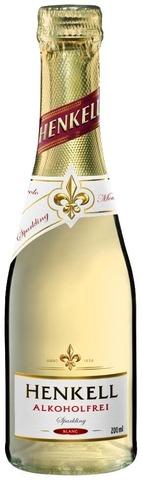 Henkell Alkoholfrei Sparkling Blanc 20Cl Piccolo