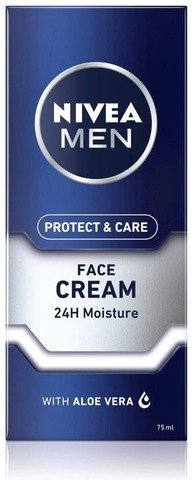 Nivea Men 75Ml Protect & Care Moisturising Face Care Cream -Kasvovoide