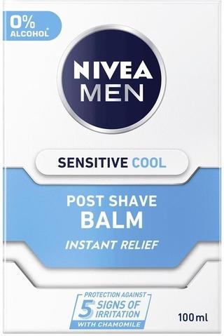 Nivea Men 100Ml Sensitive Cool Post Shave Balm -Partabalsami