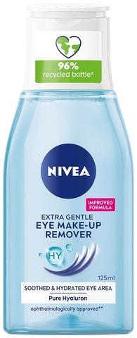 Nivea 125Ml Daily Essentials Gentle Eye Make-Up Remover -Silmämeikinpoistoaine