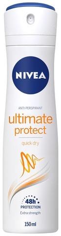 NIVEA 150ml Ultimate Protect Deo Spray -antiperspirantti