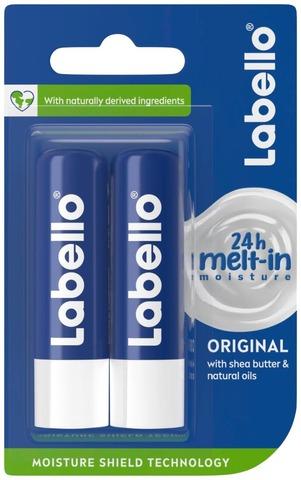 Labello Original -Huulivoide Tuplapakkaus 2X 5,5Ml