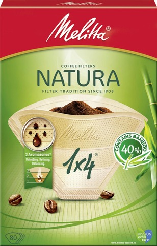 Melitta Natura 1x4/80 suodatinpaperi